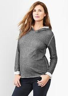 Textural hoodie
