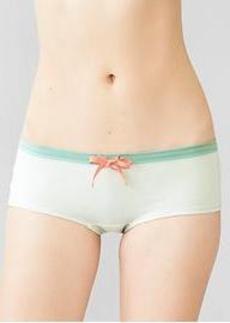 Tie-waist girlshorts