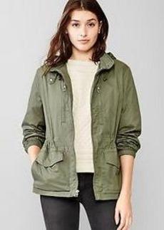 Utility hooded jacket