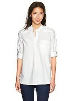 Western oxford popover shirt