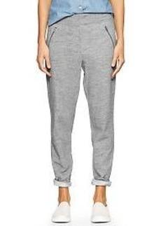 Zip-pocket track pants