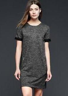 Zipper shift dress
