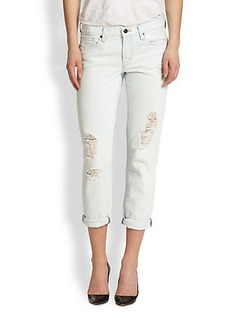 Genetic Alexa Distressed Cropped Skinny Jeans