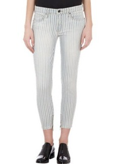 Genetic Alina Ankle-zip Cropped Jeans
