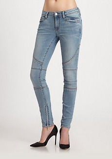Genetic Los Angeles Aliya Mid-Rise Skinny Jeans