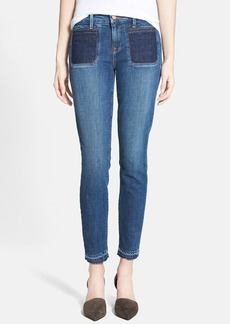 Genetic 'Bardot' Patch Pocket Skinny Jeans (Revolver)