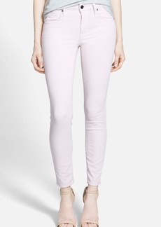 Genetic 'Daphne' Mid Rise Ankle Skinny Jeans (Petal)