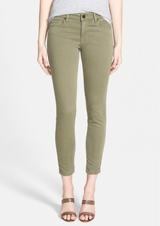 Genetic 'Daphne' Mid Rise Crop Jeans (Aviation Green)