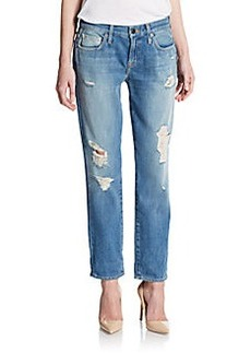 Genetic Denim Alexa Distressed Crop Jeans