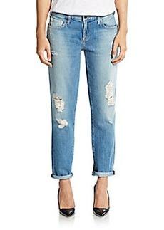 Genetic Denim Alexa Distressed Cropped Skinny Jeans