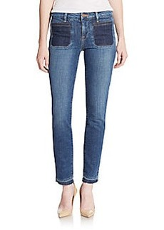 Genetic Denim Bardot Patch Pocket Skinny Jeans