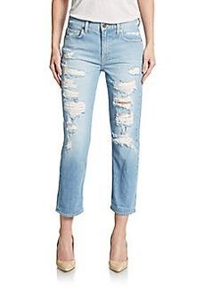 Genetic Denim Gia Distressed Boyfriend Jeans