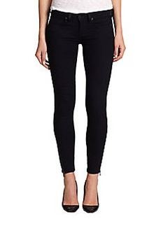 Genetic Denim James Ankle-Zip Skinny Jeans