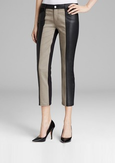 Genetic Denim Jeans - Nora Color Block Crop in Elusive