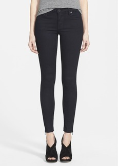 Genetic 'James' Zip Cuff Skinny Jeans (Mecca)