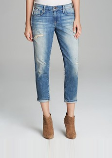 GENETIC Jeans - Alexa Skinny Straight Crop in Manic
