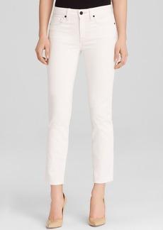 GENETIC Jeans - Matchstick Straight Crop in Meringue