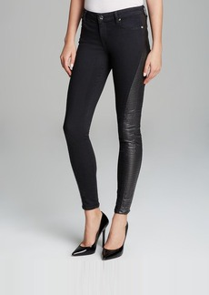 GENETIC Jeans - Phoenix Side Quilted Panel Skinny in Divine
