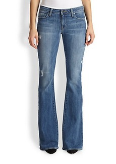 Genetic Los Angeles Leaf Flared Jeans