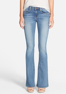 Genetic 'Leaf' Low Rise Flare Jeans (Canyon)