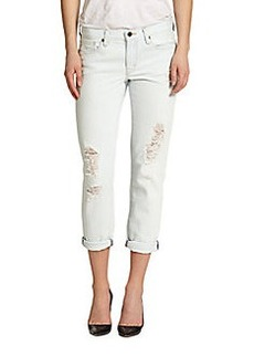 Genetic Los Angeles Alexa Distressed Cropped Skinny Jeans