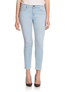 Genetic Los Angeles Audrey Mid-Rise Cropped Skinny Jeans