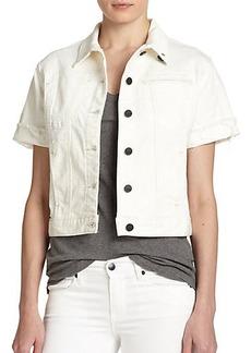 Genetic Los Angeles Blondie Short-Sleeve Denim Jacket