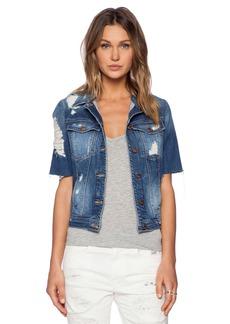 GENETIC LOS ANGELES Blondie Short Sleeve Jacket