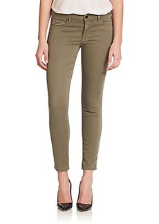 Genetic Los Angeles Daphne Mid-Rise Cropped Skinny Jeans