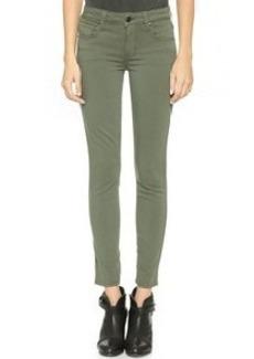 Genetic Los Angeles Daphne Midrise Crop Jeans