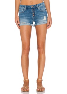 GENETIC LOS ANGELES Genetic Denim Lara High Rise Butterfly Short