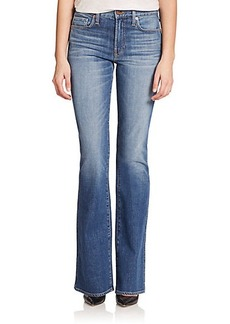 Genetic Los Angeles Hepburn High-Rise Flared Jeans