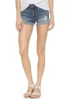 Genetic Los Angeles Lara High Rise Button Shorts
