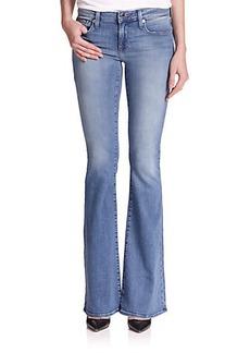 Genetic Los Angeles Leaf Flared Jeans