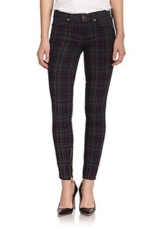 Genetic Los Angeles Lust Plaid Skinny Jeans