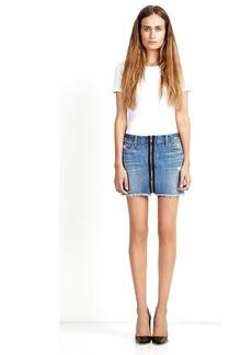 Genetic Los Angeles Taryn Center Zip Skirt