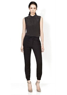 Genetic Los Angeles The Piper Drawstring Crop Pant