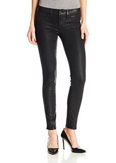 Genetic Los Angeles Women's Shane Faux-Pocket Coated Skinny Jean