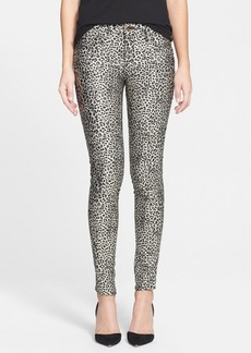 Genetic 'Shane Skinny' Coated Skinny Jeans (Instinct)