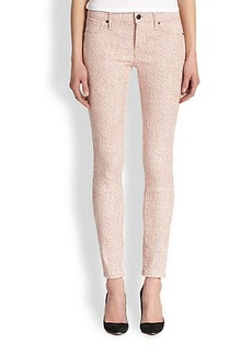 Genetic Los Angeles Shane Stretch Tweed-Effect Skinny Jeans