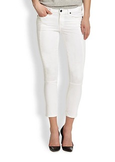 Genetic Los Angeles Soma Cropped Skinny Moto Jeans