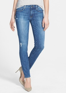 Genetic 'Stem' Mid Rise Skinny Jeans (Slash)