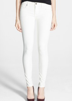 Genetic 'Stem' Mid Rise Skinny Jeans (Winter White)