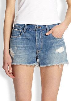 Genetic Los Angeles Stevie Cut-Off Denim Shorts