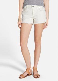 Genetic 'Stevie' Cutoff Denim Shorts (Meringue)