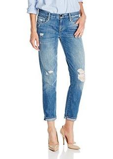 Genetic Women's Alexa Skinny Straight Crop Jean in Cruise
