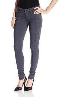 Genetic Women's Soma Side Quilted Moto Skinny Jean in Jasper