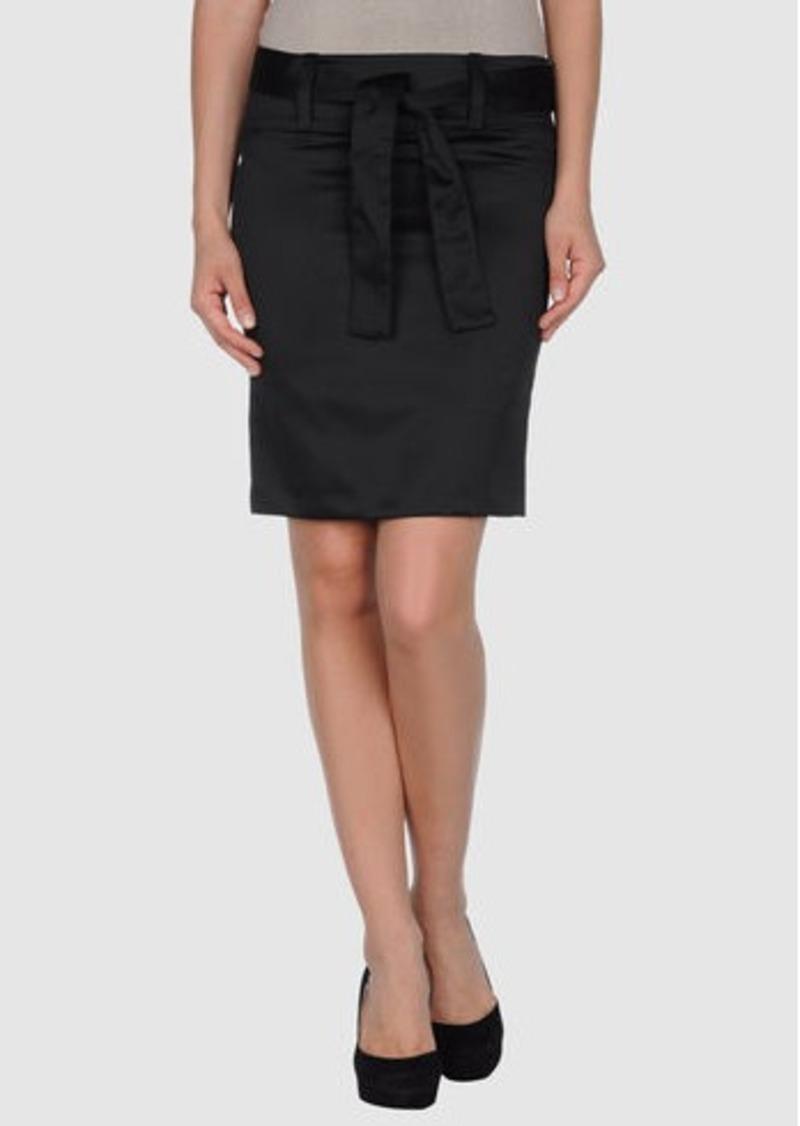 FERRE' - Knee length skirt