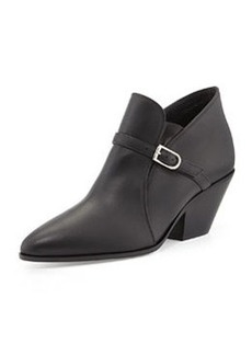 Buckled Leather Ankle Boot   Buckled Leather Ankle Boot