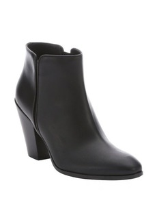 Giuseppe Zanotti black leather 'Daddy' zip ankle boots